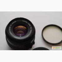 Объектив Canon FD 50mm F1.8 №387350