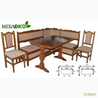 Кухонний куток + стіл +табурети за ціною виробника, Кухонний куток 2