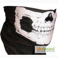 Бафф, buff, бандана - трансформер, маска череп, мультифункциональная повязка, подшлемник