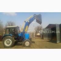 Фронтальный погрузчик кун на трактор МТЗ, ЮМЗ, Т-40 (крюк на кун, отвал снегоуборочный)
