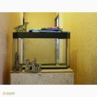 Продам аквариум б/у 130л + оборудование
