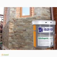 Гидрофобная пропитка ISAVAL Гидрофуганте Аква 4 л прозрачная - для камня и фасадов