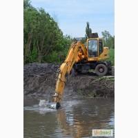 Рпасчистка берега реки, расчистка берега от камыша, углубление дна, расчистка участков