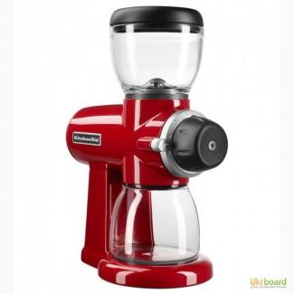 Кофемолка KitchenAid Artisan Burr Grinder, Empire Red