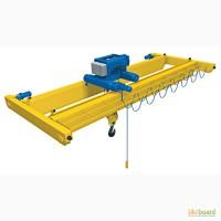 Кран мостовой электрический двухбалочный c двумя тележками г/п 50/5+10 т
