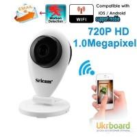 Беспроводная камера ip WiFi camera Sricam SP009 720P Web радионяня