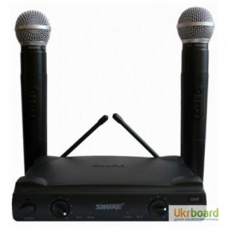 Микрофон, Радиомикрофон SHURE UT4 UHF