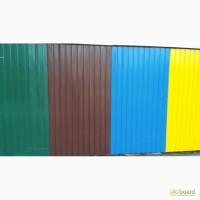 Продам профнастил коричневый глянец на крышу и забор. Звоните, СКИДКИ