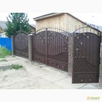 Изготовление и установка забора, ворот, калитки из профнастила в Одессе и области