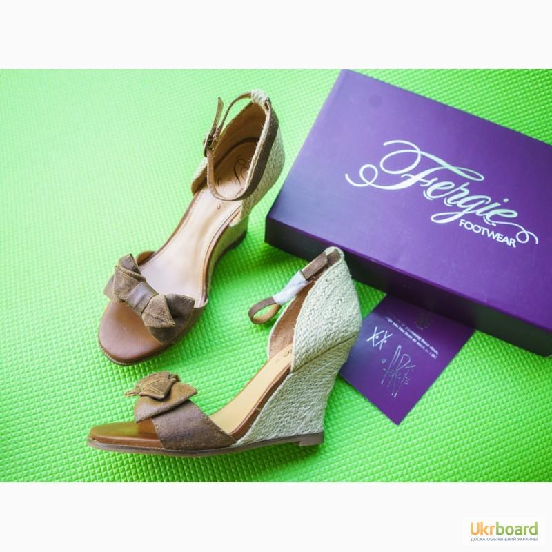 Фото 2. Босоножки кожаные Fergie. размер 39- 40