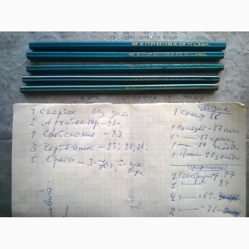 Фото 5. Продам карандаши винтажные и ручки и канцтовары