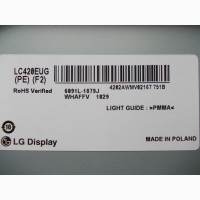 Подсветка 6922L-0023A, 42 ART TV REV 0.4 1 L-Type 6920L-0001C LG 42LM670T