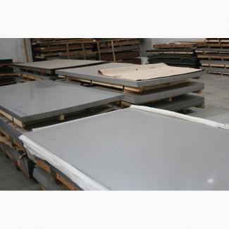 Лист 1, 2мм1000х2000 нержавейка пищевая с титаном AISI 321 - 1700грн лист