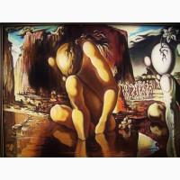 Картина 62* 94 холст масло Сальвадор Дали деревянная рама Живопись Художник Ручная работа