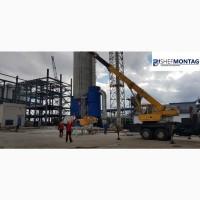 Погрузка, разгрузка, транспортировка, монтаж и демонтаж промышленного оборудования