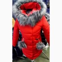 Зимние удлинённые куртки- парки Лада для девочек 7-12 лет, цвета разные