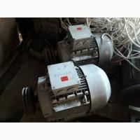 Электродвигатель двухскоростной siemens 132m 1.7/5.4 квт 975/1460
