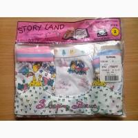 Детские трусики на девочку Story Land (цена за 3 шт.)