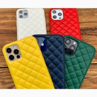Чехол iPhone Quilted Leather Case iPhone X/Xs XS Max 11/ 11 Pro/11 Pro Max/12/12 Pro/12