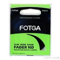 Серый нейтральный светофильтр переменной плотности Fotga 62mm Slim ND2-ND400