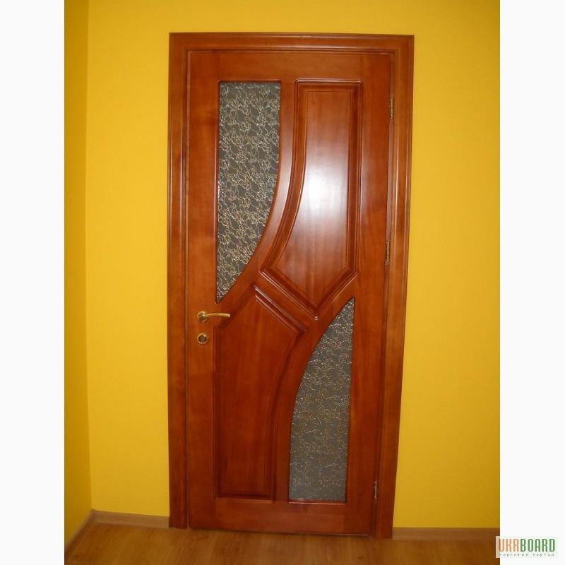 Дерев'яні (соснові) вхідні двері