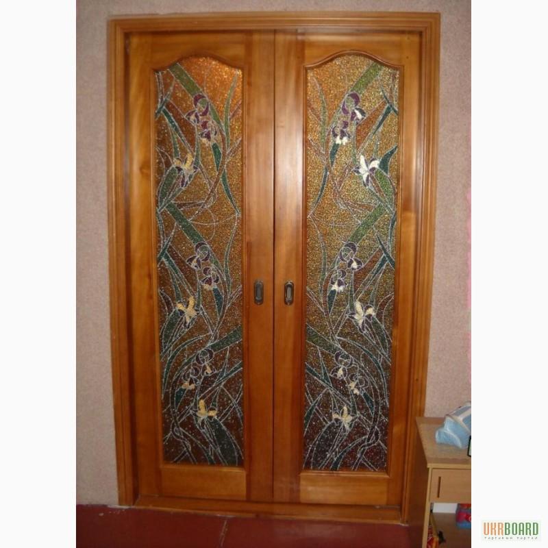 Фото 3. Дерев'яні (соснові) вхідні двері