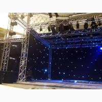 Одежда сцены в виде «звездного неба»