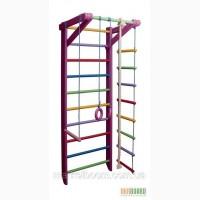 Спортивный комплекс для детей, спортивный уголок, шведская стенка, Барби 2-220