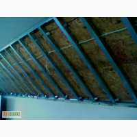 Гипсокартон - подвесные потолки, монтаж