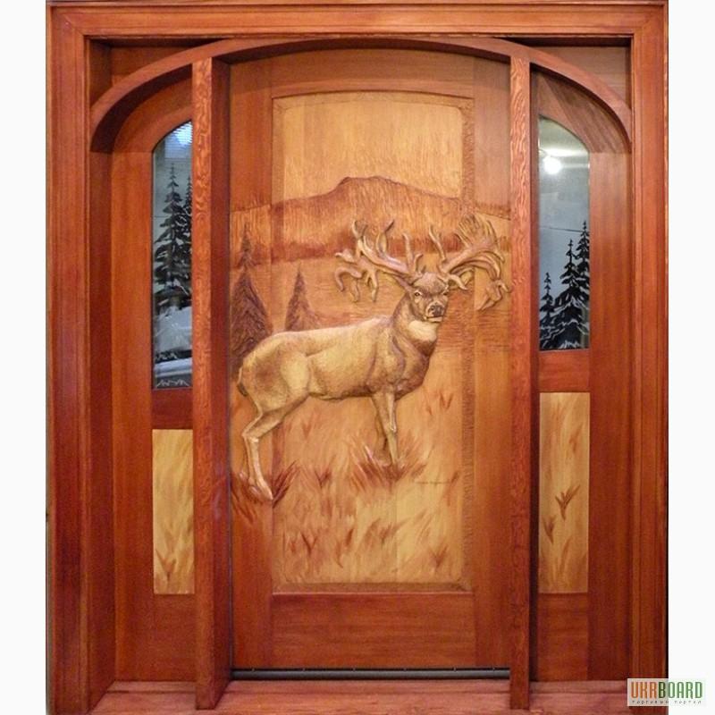 Резные двери из дерева своими руками