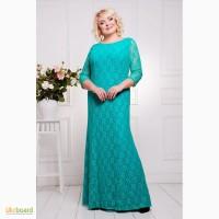 Длинное платье большого размера в интернет магазине Moda Style