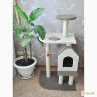 Игровой комплекс для кошек «Домовой» (делаем сами)