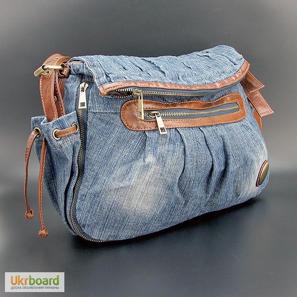 Сумка джинсовая женская