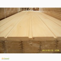 Деревянная вагонка для бани и сауны липа 1. 2 высший сорт