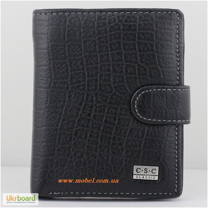 f817b7584977 Мужской кожаный кошелек (портмоне) вертикальный CSC. Продам   купить