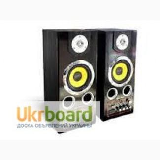Колонки. Активная акустика USB FM 309 блютуз