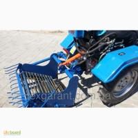 Картофелекопалка для мототрактора Активная транспортерная