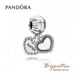 Оригинал Pandora шарм-подвеска моя сестра 791383
