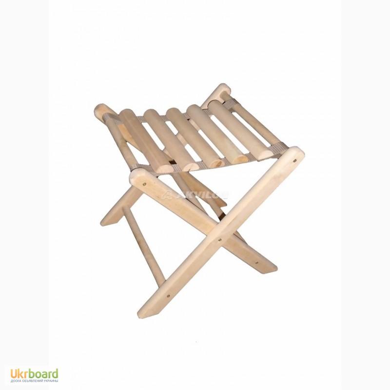 деревянный раскладной стул для рыбалки