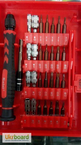 Фото 2. Большой набор универсальных оригинальных отверток Kaisi 3801 профессиональный инструмент