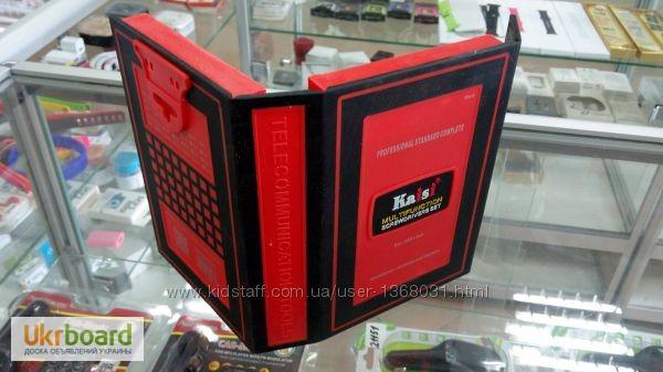 Фото 3. Большой набор универсальных оригинальных отверток Kaisi 3801 профессиональный инструмент