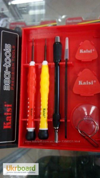 Фото 4. Большой набор универсальных оригинальных отверток Kaisi 3801 профессиональный инструмент
