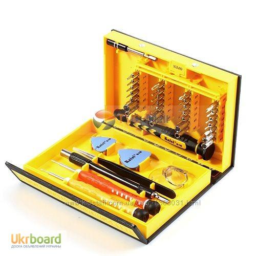Фото 7. Большой набор универсальных оригинальных отверток Kaisi 3801 профессиональный инструмент