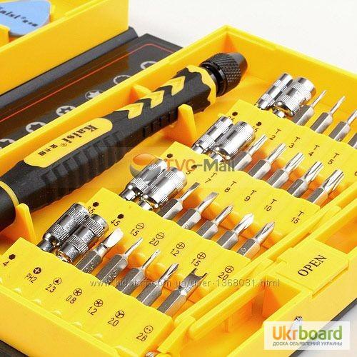Фото 8. Большой набор универсальных оригинальных отверток Kaisi 3801 профессиональный инструмент