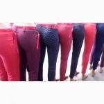 Женские летние брюки с ремнём, размеры 42-48 оптом и в розницу
