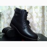 Стильные зимние мужские сапоги-ботинки Bertoni Распродажа