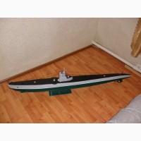 Макет подводной лодки С-13