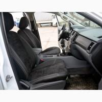 Модельные авточехлы на BMW экокожа, алькантара