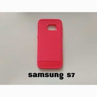 Чехол Samsung S7 Красный