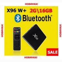 X96 W + Bluetooth Смарт ТВ приставка 2GB + 16GB